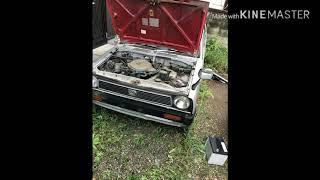 Subaru Rex kF1 auto crutch