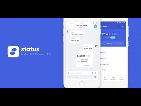 Status.im (SNT) Interview - Decentralized Web on a Blockchain - A Chat with Chris Hutchinson