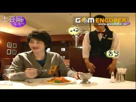 ウェイトレスに韓国語の発音を強要する韓流俳優