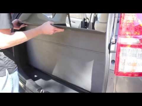 Security Shade in the 2015 Honda CR-V