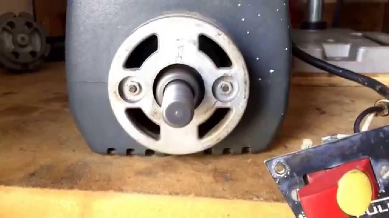 Craftsman Radial Arm Saw Motor 63503 Youtube