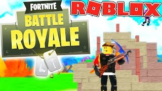BEST FIRST ROUND EVER? - ROBLOX FORTNITE BATTLE ROYALE (ISLAND ROYALE) #1