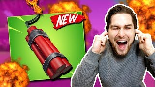 *NEW* Dynamite doet 800 Building Damage! 😱 - Fortnite Battle Royale (Nederlands)