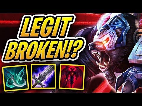 BLADEMASTER VOLIBEAR IS LEGIT BROKEN?! | Demon Bear? | Teamfight Tactics | TFT | LoL Auto Chess