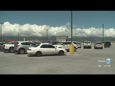 New solar project will impact hundreds of parking stalls at Honolulu Airport for next 3 months
