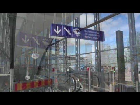Lentoaseman Rautatieasema Youtube