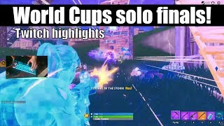 How I Qualified For World Cup Solo Finals In Fortnite (Twitch highlights) (world cup Solos)