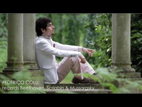 Federico Colli records Beethoven, Scriabin & Mussorgsky