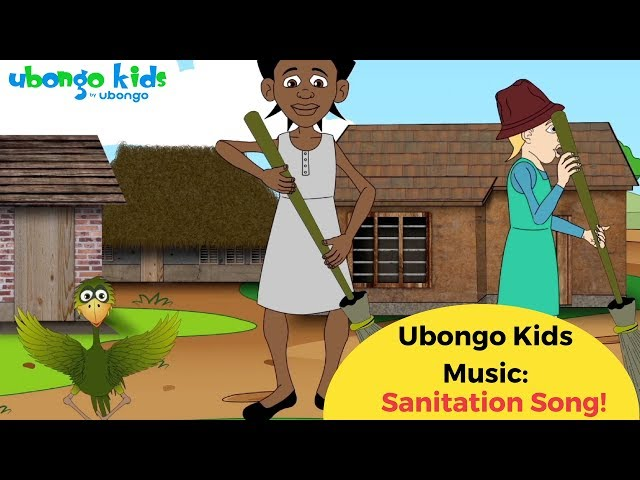 The Sanitation Song | Ubongo Kids African Songs | Educational Cartoons
