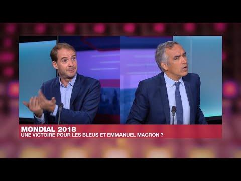 Mondial-2018: une victoire pour les Bleus... et Emmanuel Macron?