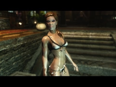 SKYRIM - Sexy Bathing Beauties