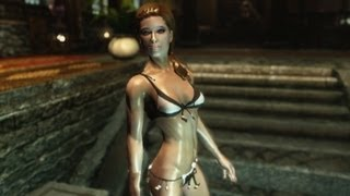 Repeat youtube video SKYRIM - Sexy Bathing Beauties