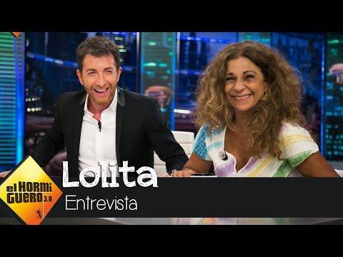 Pablo Motos elogia el sexy desnudo integral de Lolita en su campaña solidaria - El Hormiguero 3.0
