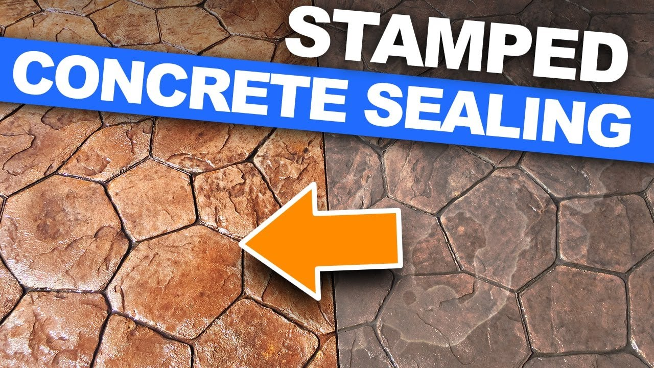 how to seal stamped concrete sealing a stamped concrete patio in downers grove