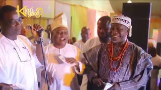 OONI OF IFE, KWAM 1 & NOLLYWOOD STARS GATHER @ SAIDI BALOGUN 'S 50TH BIRTHDAY