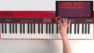 """Recording"" Roland GO:KEYS #09"
