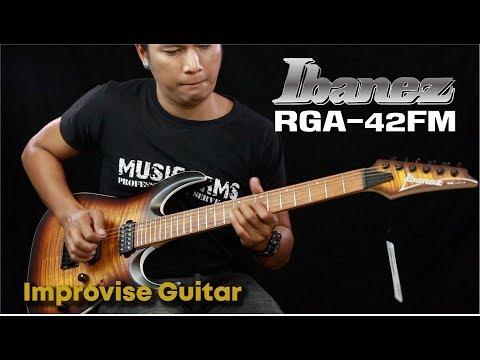 Improvise guitar l IBANAZ RGA-42FM