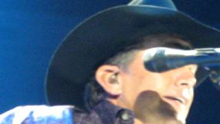"George Strait ""Blue Clear Sky"" - Atlanta, Ga. 2/10/12"