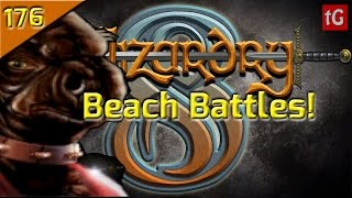 Let's Play Wizardry 8 on Expert: Beach Battles #176 PC Gameplay HD