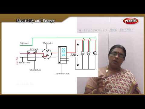 Electricity and Energy  || TN 10th Std  Science-Physics || Q