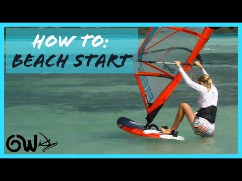 How to Beach start