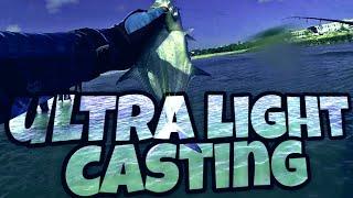 ultralight fishing l strike bluefin trevally umpan micro jig