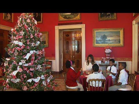 First Lady Reveals White House's Xmas Spirit