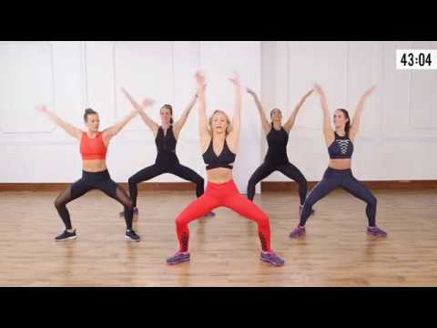 This is 45-Minute Dance-Party Workout
