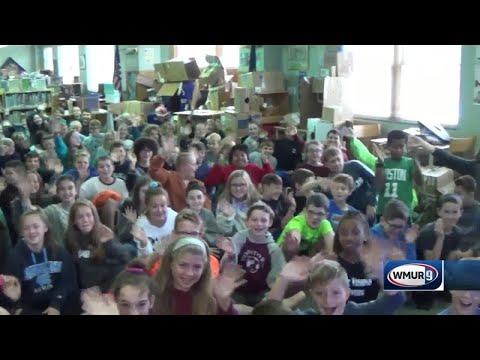 School visit: New Boston Central School