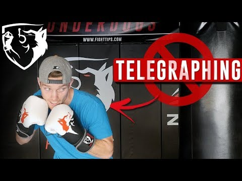 Stop Telegraphing! The Worst Habit a Fighter Can Have...