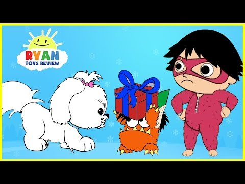 Ryan's Christmas Animated Cartoon for kids