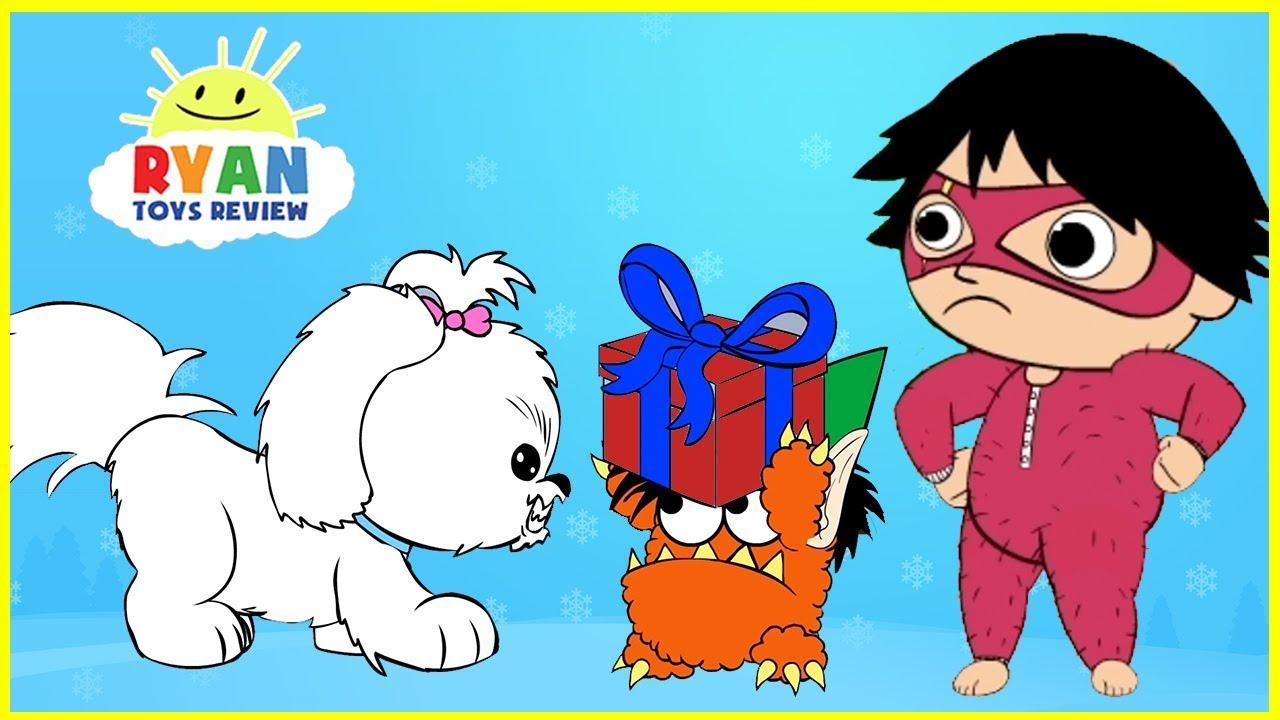 Ryan's Christmas Animated Cartoon for kids - YouTube