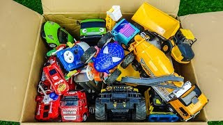 Cars for Kids,Car Toy and Learning Name Train,Police Car,Dump Truck,Fire Truck,Bus,Plane G173A