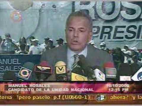 Manuel Rosales Vs El bobo del 8