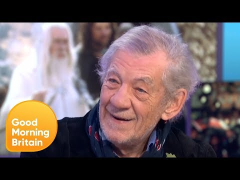 Sir Ian McKellen Reveals His Matching Tattoo With Lord of the Rings Cast | Good Morning Britain