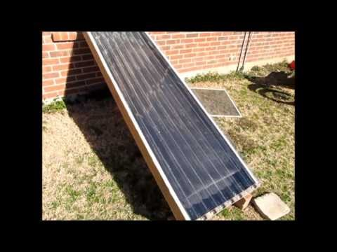 FREE Heat - How To Build A Homemade, Passive Solar Heater Wi