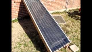 Free Heat - How To Build A Solar Heater Window Unit