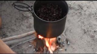 Cooking Beans On The 6oz Folding Firebox Nano Wood Burning Backpacking Stove