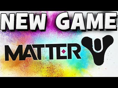 Matter - NEW BUNGIE GAME   HUGE MMO Game News !