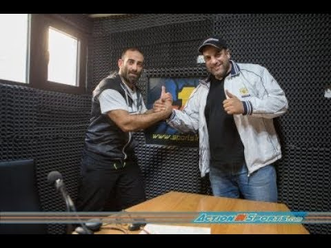 Action in Sports com at Sports1 radio guest Stefanos Charalampous