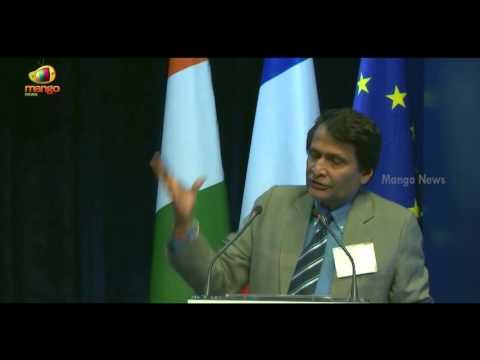 Minister of Railway Suresh Prabhu's Speech at Emerging Market Forum at Paris | Mango News