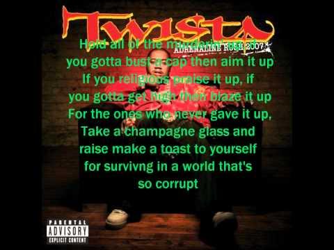 TWISTA - KORRUPT WORLD WITH LYRICS