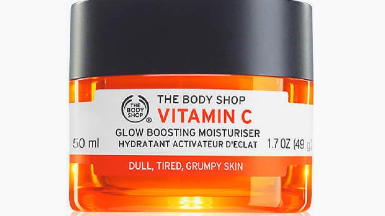 body shop c vitamin serum