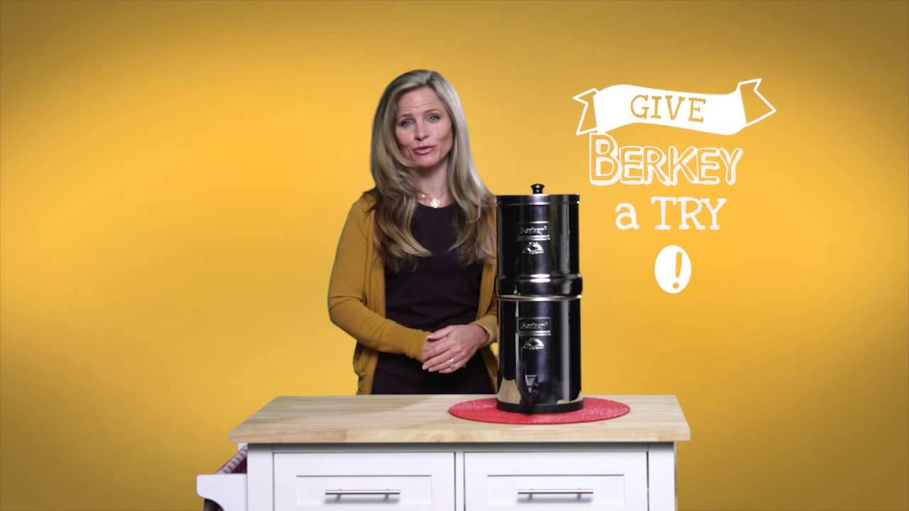 Travel Berkey Water Filter Youtube