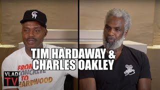 "Charles Oakley Calls MSG Fight ""BS"", Didn't Like that Michael Jordan Got Involved (Part 10)"