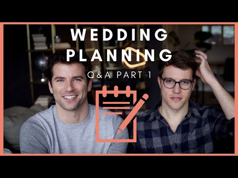 Planning A Gay Wedding (q&a)