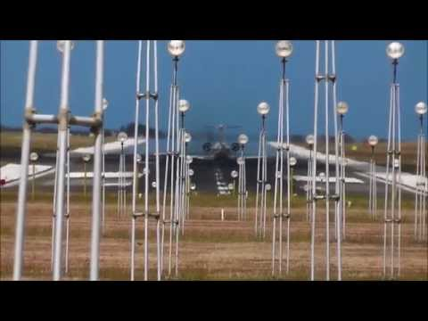 Grantley Adams Int. Airport - Aircraft Landing Barbados