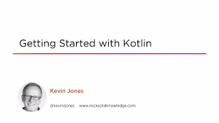 Course Preview: Getting Started with Kotlin
