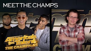 Quick Style and Michael Grimm Bring EXCITEMENT To Champions! - America's Got Talent: The Champions