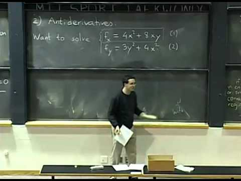 Lec 0 | MIT Professor Auroux Teaches all of Multivariable Calculus in Literally 40 Seconds